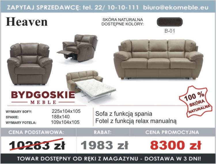 Heaven Sofa Fotel Z Relaksem Manualnym Bydgoskie Meble
